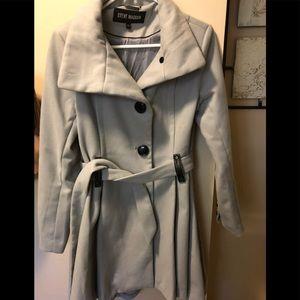Steve Madden grey trench coat